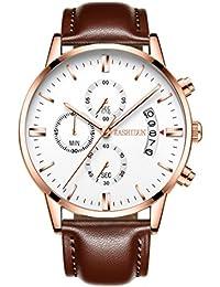 Men's Watches Casual Quartz Wrist Watches Luminous Waterproof Calendar Date-White.TL-JBZP