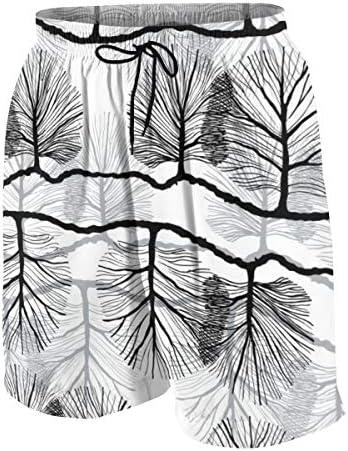 キッズ ビーチパンツ 植物 木の絵 サーフパンツ 海パン 水着 海水パンツ ショートパンツ サーフトランクス スポーツパンツ ジュニア 半ズボン ファッション 人気 おしゃれ 子供 青少年 ボーイズ 水陸両用