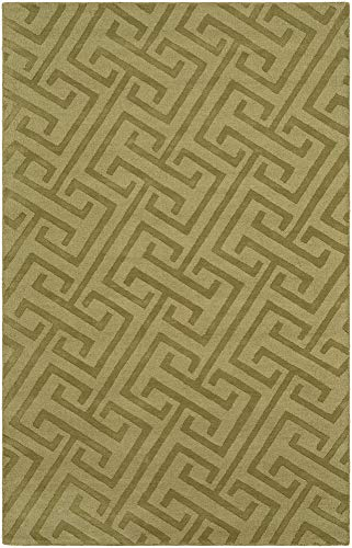 - Solid & Border Area Rug Rectangle 8' x 11'