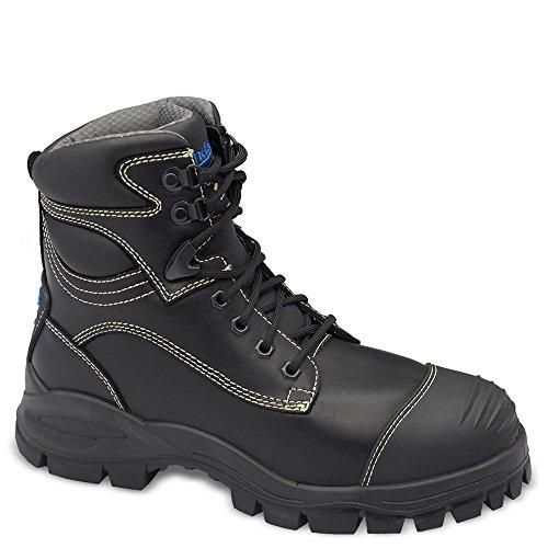 Blundstone Mens Slip - Blundstone Men's Xfoot Rubber Range Ankle Boot,Black Leather,AU 10 M