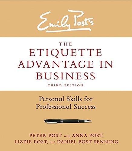 Etiquette Advantage In Business