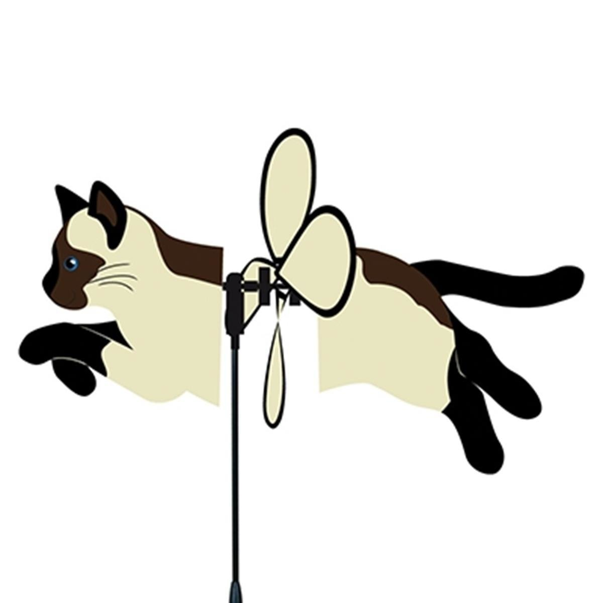 Wind Garden Petite Flying Spinner - Siamese Cat PREMIER KITES & DESIGNS 25061