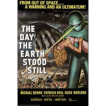 Day the Earth Stood Still Science Fiction Movie Poster 24x36