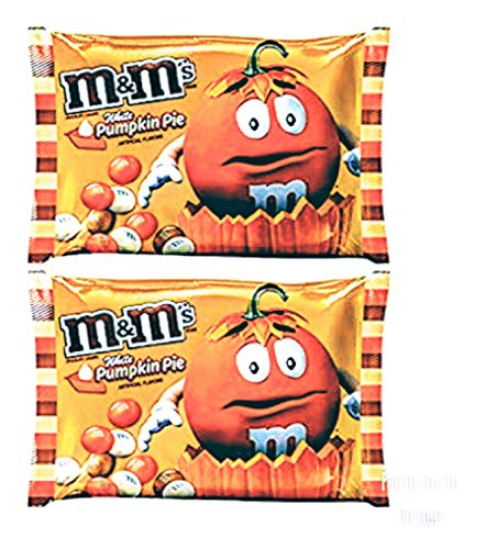 M&M's(R) White Pumpkin Pie 8 oz Bag (Pack of 2)