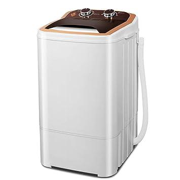 Mini Lavadora, Portable 1.2KG Capacidad De Lavado Secador Rotatorio Función De Temporización Adecuado Para Ropa De Bebé Para Niños Limpieza Separada Pequeño ...