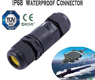 Connecteur de fil de câble électrique étanche IP68 de 16 A et 450 V ... e2dc15d7ec8b
