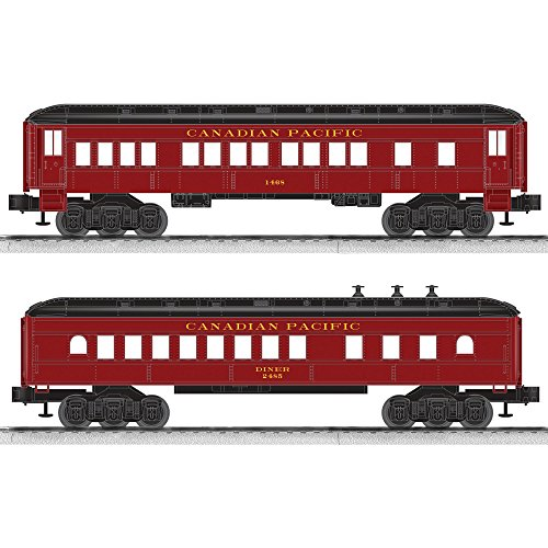 fic Coach/Diner Baby Madison Passenger Car (2 Pack) (Canadian Pacific Passenger Trains)