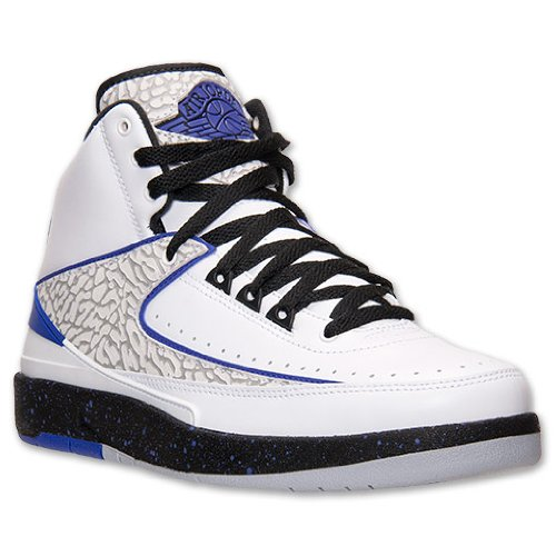 Nike air Jordan 2 Retro Mens hi top Basketball Trainers 385475 153 Sneakers Shoes jumpman23 (UK 7.5 US 8.5 EU 42)