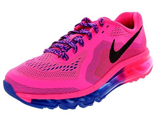 Price comparison product image Nike Kids Air Max 2014 (GS) Hypr Pnk/Blk/Hypr Cblt/Hypr Pn Running Shoe 4 Kids US