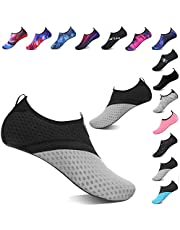 TcIFE Water Shoes Barefoot Quick-Dry Aqua Yoga Socks Slip-on for Men Women Kids