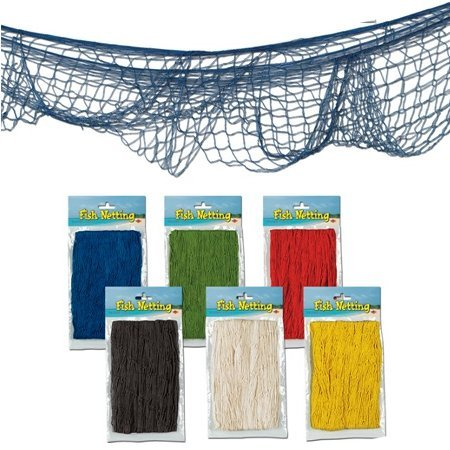 (Decorative Fish Net colors may vary)