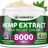 Best Joint Pain Reliefs - Pain Relief Hemp Cream - 8000MG Hemp Extract Review