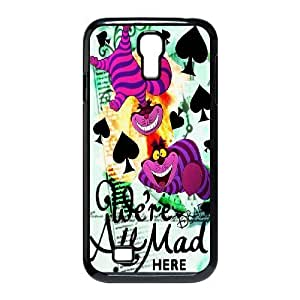Steve-Brady Phone case Alice in Wonderland Protective Case For SamSung Galaxy S4 Case Pattern-1