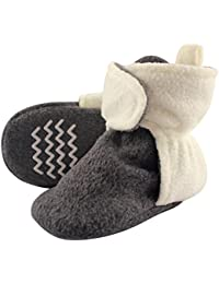 Baby Cozy Fleece Booties with Non Skid Bottom
