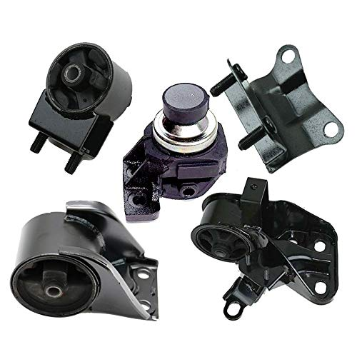 ONNURI For 1993-1997 Mazda 626 2.5L Manual Trans Engine Motor & Trans Mount 5pcs : A6457, A6460, A6476, A6462, A6445 - K2085