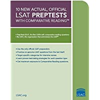 10 New Actual, Official LSAT: Preptests 52-61(封面随机)