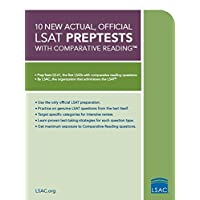 10 New Actual, Official LSAT PrepTests: (PrepTests 52–61)
