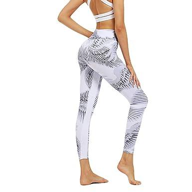 cinnamou Pantalones Mujer, Pantalones Cintura Alta Elasticos ...