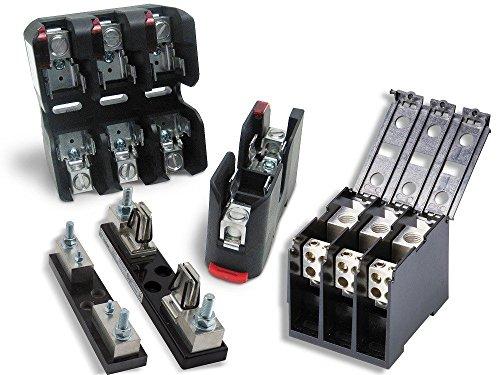 LITTELFUSE LFR250301P LF Series Single Pole 30 A 250 V Class R Snap-Release DIN RAIL Fuse Block - 1 item(s) (Single Snap Din)