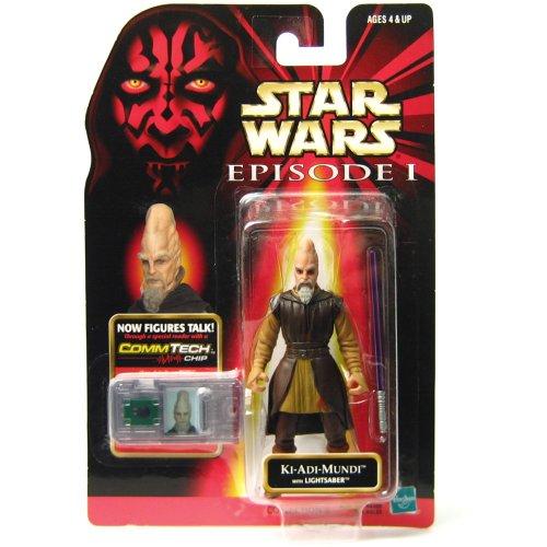 (Star Wars Episode I: The Phantom Menace, Ki-Adi Mundi Action Figure, 3.75 Inches )