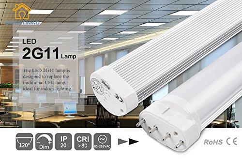 BRIGHTINWD LED 2G11 16W 1300-1400LM 3000K Warm White 2G11...