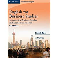 English for Business Studies: A Course for Business Studies and Economics Students (Cambridge Professional English)
