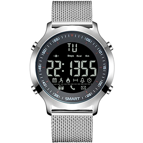 Stainless Steel Camera Watch (Silver) - 8