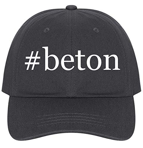 - The Town Butler #Beton - A Nice Comfortable Adjustable Hashtag Dad Hat Cap, Dark Grey, One Size