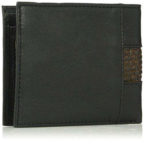 Fold Men's Bahama Slimfold Size Black Tommy Bi Leather Wallet One aBSwqqx