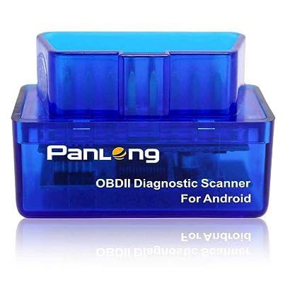 Panlong Bluetooth OBD2 OBDII Car Diagnostic Scanner Check Engine Light