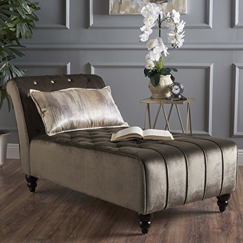 - Christopher Knight Home 301263 Rubie Chaise Sofa, Grey