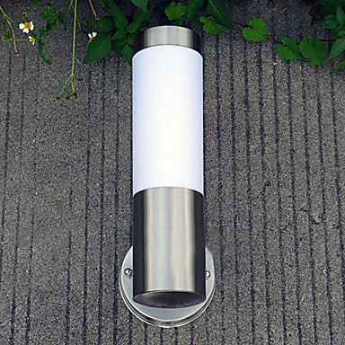 ZQ Character design Outdoor Wall Light, 1 Light, Concise Aluminum Acrylic Painting , 110-120V by Outdoor Wall lamp ZQ (Image #1)