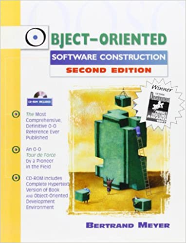 Object Oriented Software Construction Book Cd Rom 2nd Edition Meyer Bertrand 9780136291558 Amazon Com Books