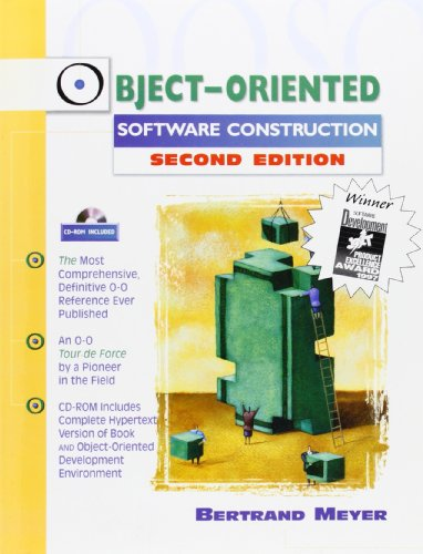 Object-Oriented Software Construction (Book/CD-ROM) (2nd Edition) by Prentice Hall