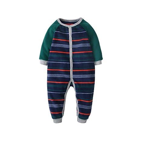 Bebé Mameluco Body - Infantil Pijamas Bebé Peleles Algodón ...
