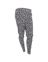 Womens/Ladies Thermal Floral Mosaic Pattern Long Janes