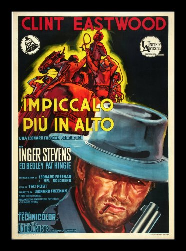 Hang 'Em High (1968) Movie Poster 24x36 inches Italian