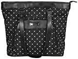Kenneth Cole Reaction Dot Matrix Tote, Black Review and Comparison