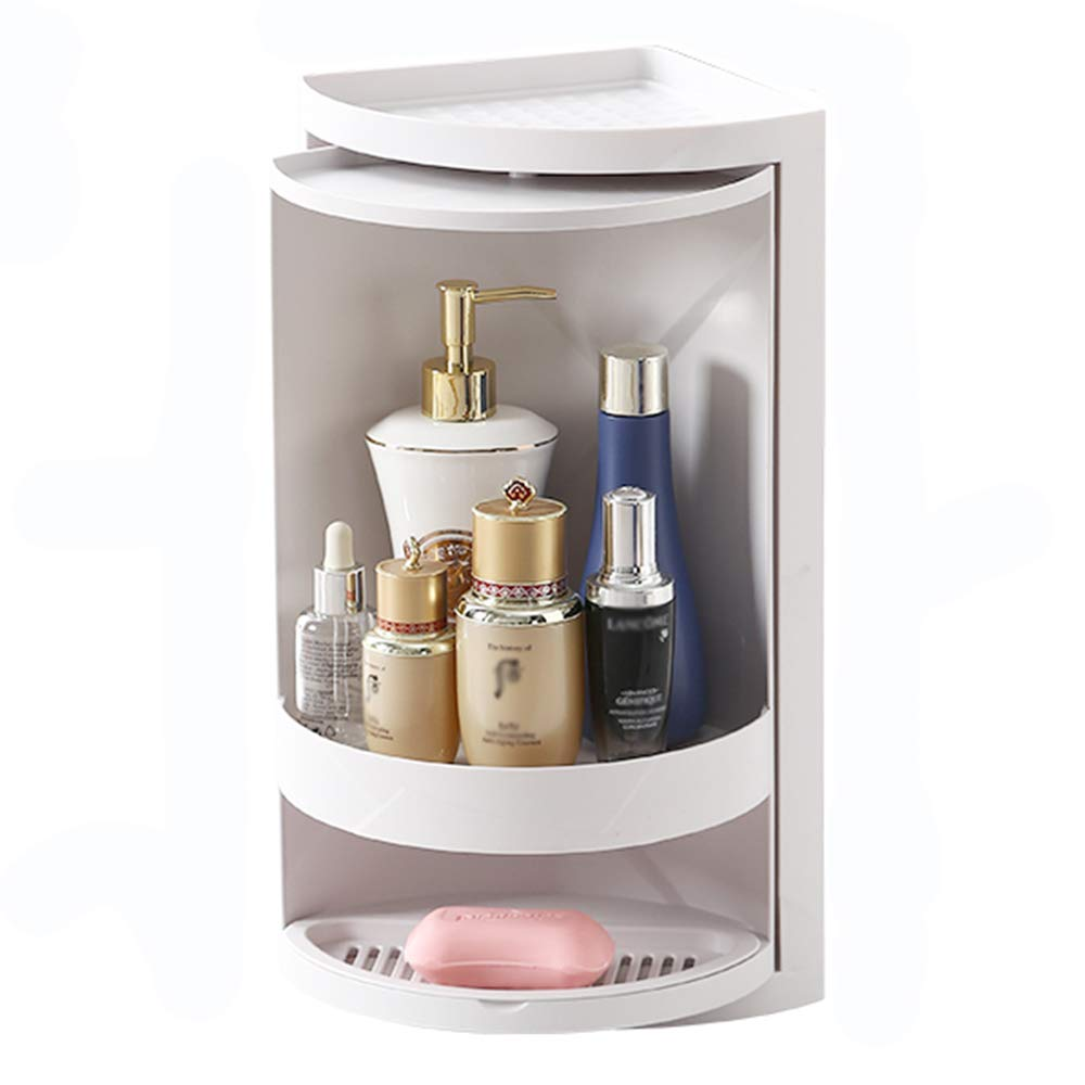 WZFC Bathroom Shelf Support De Triangle De Salle De Bain Coin Vestiaire,Gray,A Support dangle Support Pivotant De Cuisine