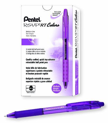 Pentel R S V P Retractable Ballpoint BK93CRV V