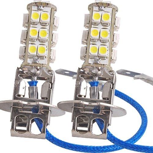 16 opinioni per 2pz AUTO LAMPADE LUCI H3 BIANCO 26 LED 3528 SMD CHIPS
