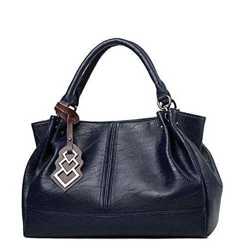 CCZUIML à Main Sac bleu la à Sacs des Mode Bag de capacité Grande Femmes de bandoulière rtwFvrq