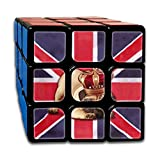 AVABAODAN England Flag Dog Rubik's Cube Original 3x3x3 Magic Square Puzzles Game Portable Toys-Anti Stress For Anti-anxiety Adults Kids