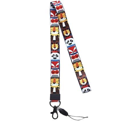 Correa para el cuello para teléfono/llaves, impresión de doble cara en correa para el cuello a todo color con alta calidad, ideal para tarjeta de ...