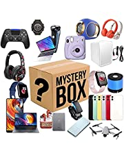 Mysteries Boxes Electronic, Lucky Boxes, Mysterious Random Products, There is A Chance to Open: Such As Drones, Smart Watches, Gamepads, Digital Cameras and More, Anything Possible