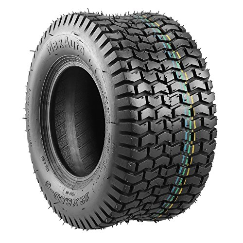 Set of 2 13x6.50-6 13-6.5-6 Turf Saver Tire for John Deere Lawn and Garden Tractor Mower 13/6.50-6 4-Ply