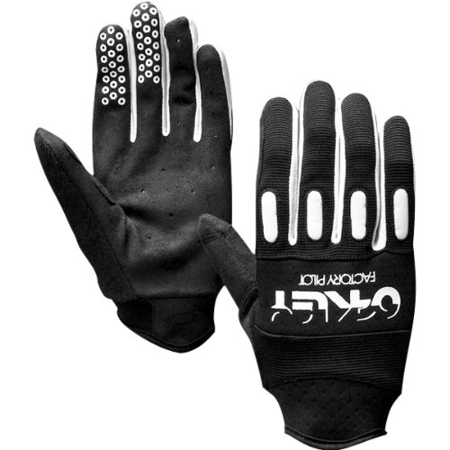 Oakley Factory Adult Off-Road Motorcycle, Mountain Bike & BMX Gloves - Black / Small
