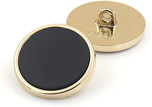 Floral décoratif doré boutons 3 tailles vendus par 5 boutons pour couture