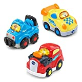 With VTech's Go! Go! Smart Wheels, your child is a hero as they play and learn. Perfectly sized for little hands, this feisty electronic play vehicle entertains your child with a light-up driver button and cheerful sing-along songs. This Recreational...