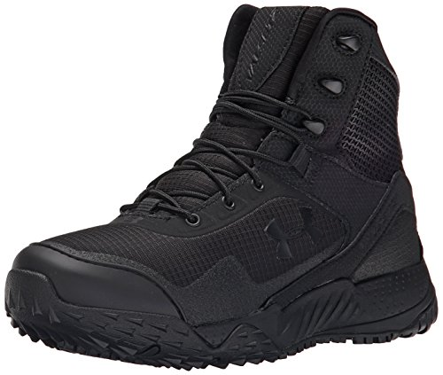 Under Armour Women's Valsetz RTS Military and Tactical Boot, 001/Black, 10